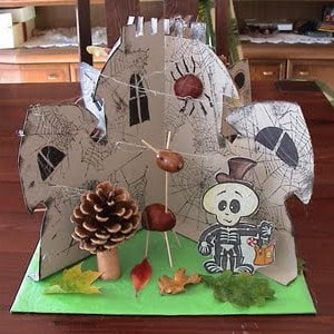 0 autumn crafts haunted house