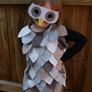 0 autumn crafts owl outfit