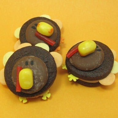 0 autumn crafts turkeys