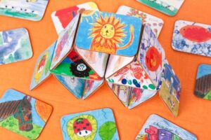 Children's coasters from FunMats