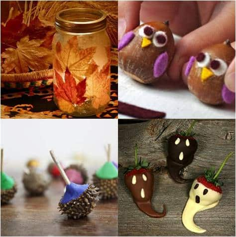Fall Craft Ideas on Art S Blog    Blog Archive Autumn Craft Ideas    Red Ted Art S Blog