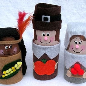 autumn crafts pilgrims