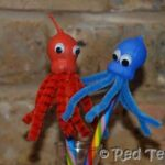 Kids Crafts: Gumnut Octopus