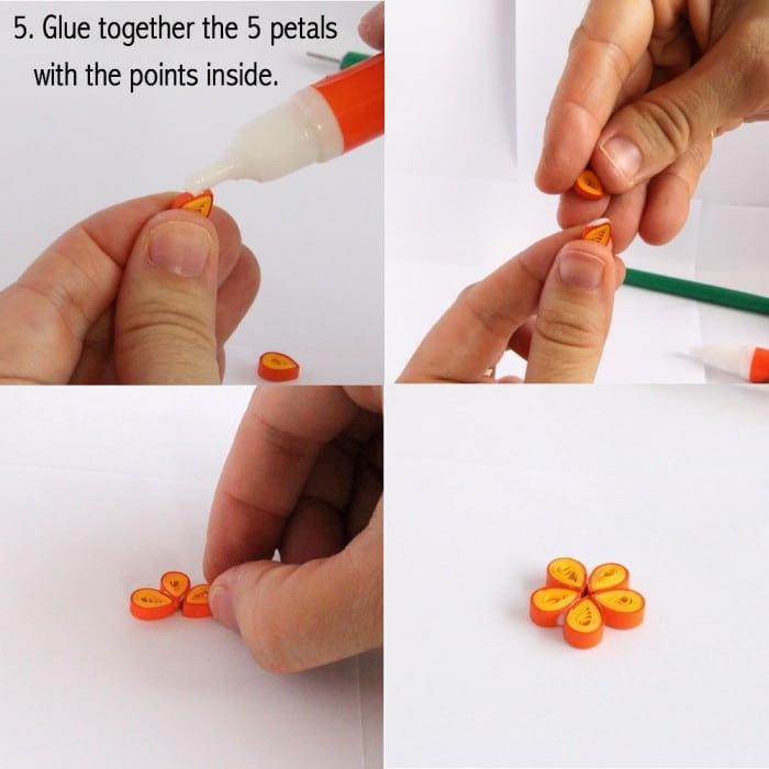 Easy paper quilling how to - learn how to make these wonderful paper quilled flowers!