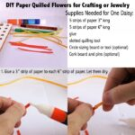 How To… Make Paper Quilled Daisy Earring (Guest Post)