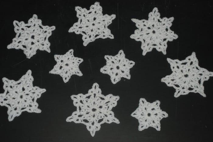 Quick Craft Post: Crochet Snowflakes