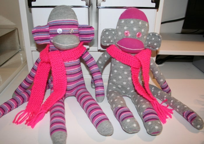 sock monkey pattern and clothes
