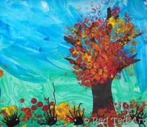 four seasons autumn craft