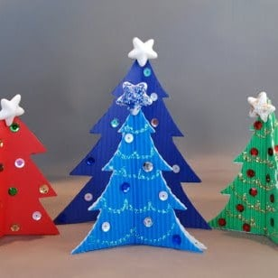 arts and crafts ideas for christmas crafts trees ted s 7447