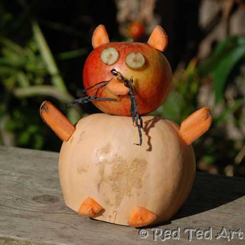 vegetable animal craft (2)