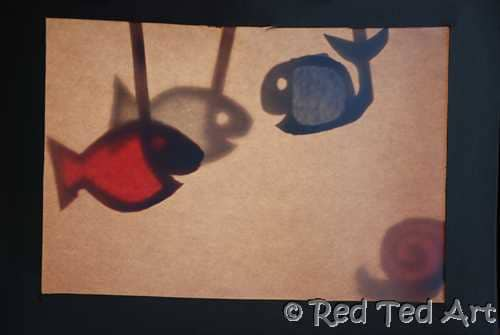 Kid Shadow Puppets Craft