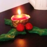 christmas crafts candles