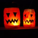 Quick Craft Post: Halloween Lanterns (vlog)