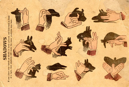 hand shadow puppets