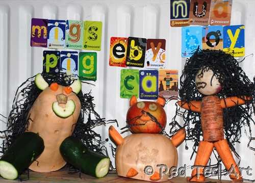 vegetable animal craft
