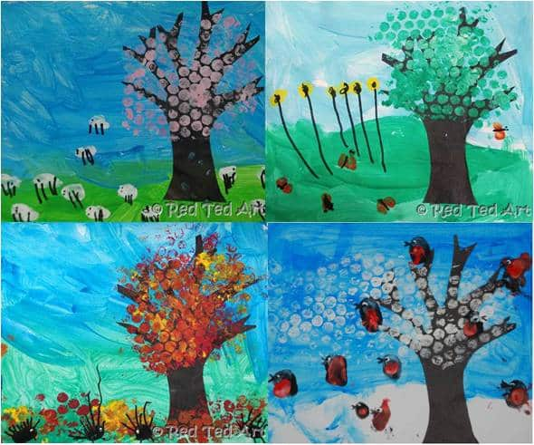 Kids Crafts: 4 Seasons – Autumn