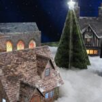 Christmas Village close up