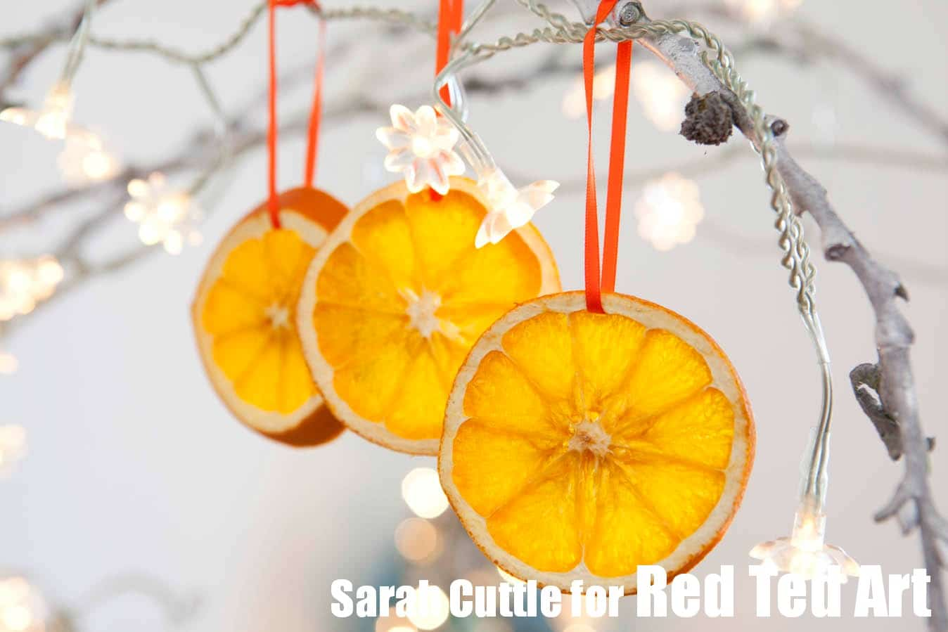 orange slices how to dry orange slices tutorial these make great ornaments or decorations - Orange Christmas Decorations