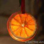 diy Orange slice