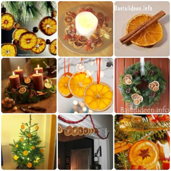 Homemade Christmas Decorations Dried Orange : How to dry orange slices