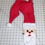 Santa craft scarf