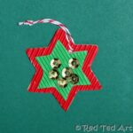 Kids Crafts: Cookie Cutter Christmas Cards & Decorations