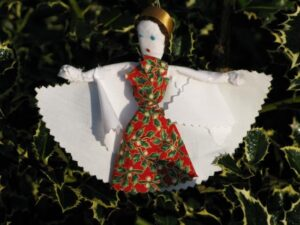 fabric scrap angel