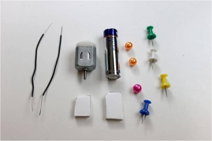 mini robot materials