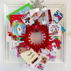 christmas card displays