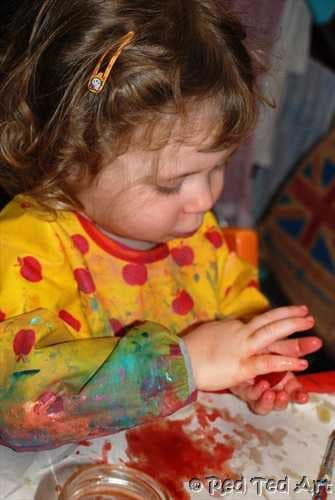 preschoolers ice experiment