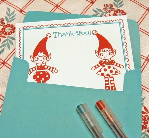 thank you notes printables