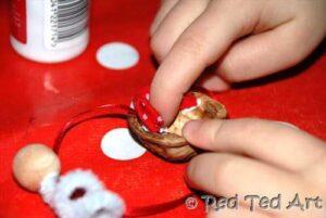 walnut christmas crafts
