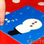 Christmas card making kids