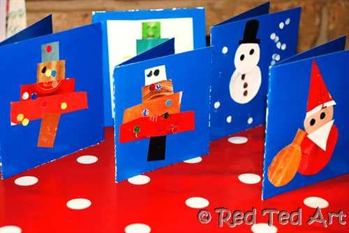 Christmas cards recycled (2)