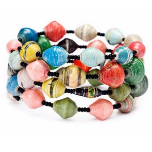 Magazine beads (2)