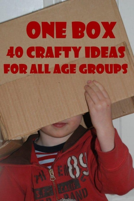 Box Crafts - 40+ Wonderful Box Crafts - one box..... all these different ideas. Save some of your Christmas Packaging for some wonderfully thrifty and gorgeous upcycled DIYs in the new year!