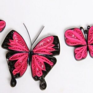 butterfly quilled