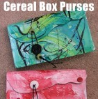 cereal box craft unusual