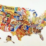 cereal box map