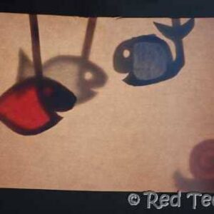 cereal box shadow puppet