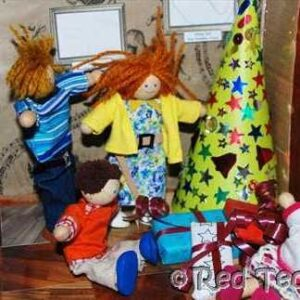 Christmas at the dolls house