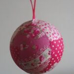 christmas ornament fabric