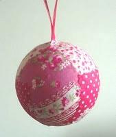 christmas ornament fabric