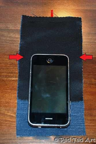 iphone cover pattern how to