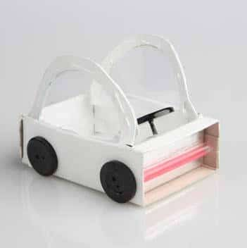 matchbox crafts  car
