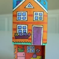 matchbox crafts house