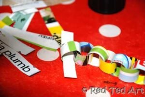 paper chain how to