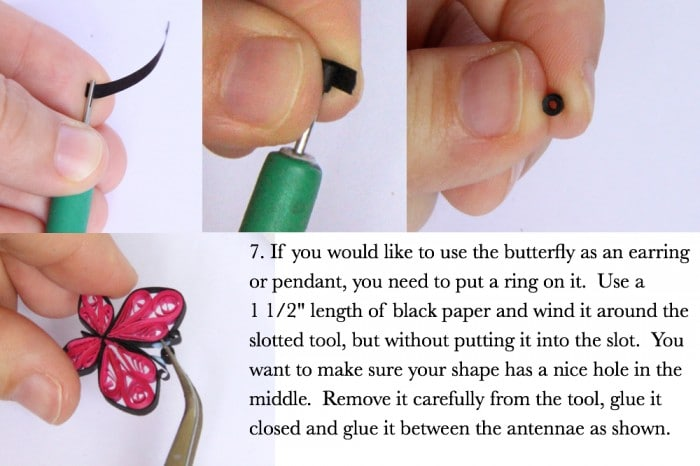 How To Make Paper Quilled Butterflies Guest Post Red Ted Arts