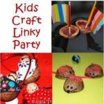 Kids Crafts: Walnut Crafts & Link Up Party