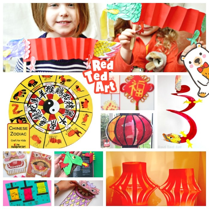 Chinese New Year Crafts & Ideas for Kids - Red Ted Art ...